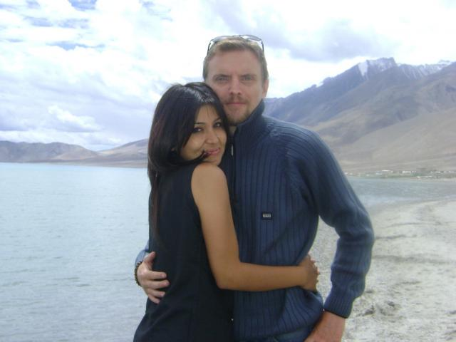 Interracial Couple Megha & Bjorn - Sweden - India